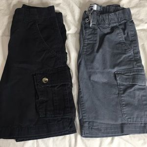 Pair of boy cargo shorts